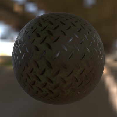 PBR material example